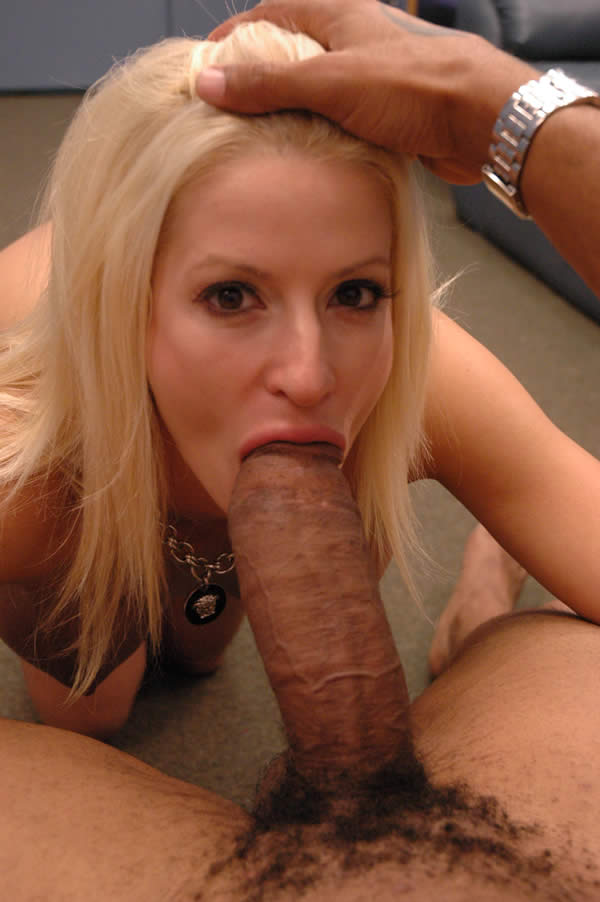 Big black blonde cock doing can
